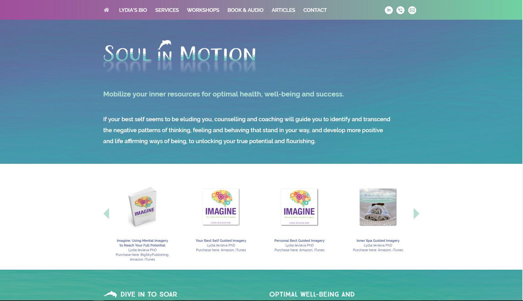 Soul in Motion – Intertron Design